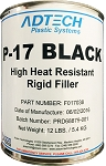 P-17 Black High Heat Resistant Rigid Filler