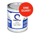28x50 Clear Sanding Sealer/Fill Coat, Polyester (1 Quart)