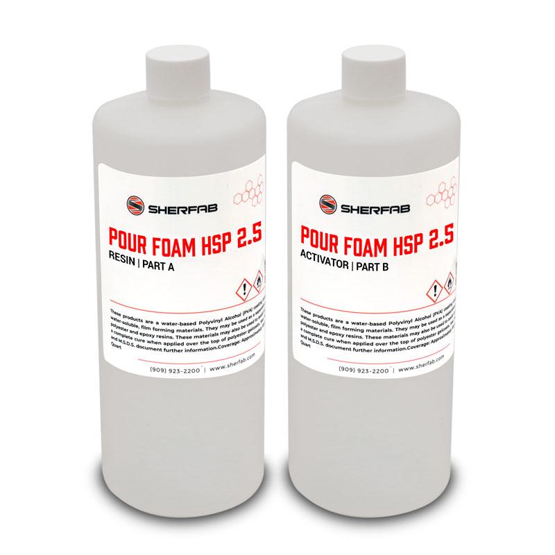 Pour Foam - Quart Kits