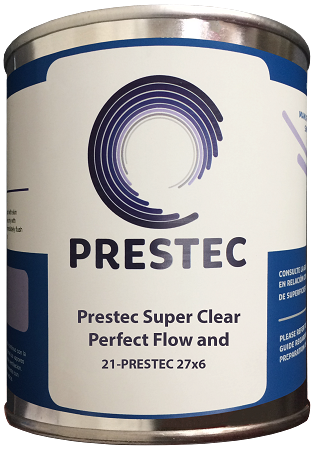 27x6 - Hi-Gloss Top Coat- Clear (Polyester)