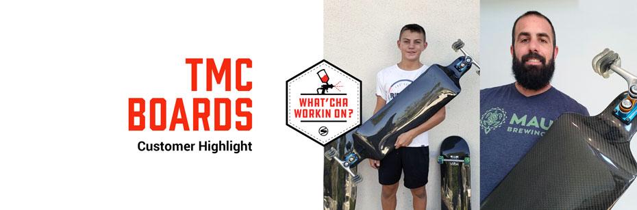 TMC Boards, Carbon Fiber Skateboards