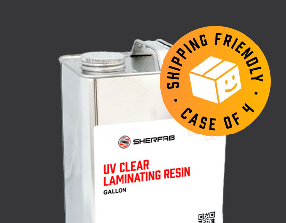 Shipping-Friendly Resins