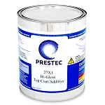 27x1 Hi-Gloss Topcoat/Additive - Clear, Polyester (1 Gallon)