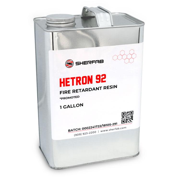 Hetron™ 92 Flame Retardant Polyester Resin (1 Gallon)