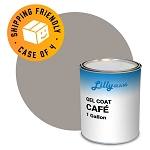 Café Gel Coat (Case of 4, 1 gallon ea.)