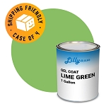 Lime Green Gel Coat (Case of 4, 1 gallon ea.)