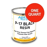 P-17 Black High Heat Resistant Rigid Filler (1 Quart)