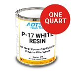 P-17 High Heat Resistant Rigid Filler (WHITE) (1 Quart) (CLEARANCE)