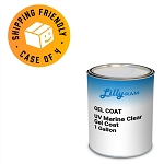 UV Marine Clear Gel Coat (Case of 4, 1 gallon ea.)