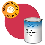 Viper Red Gel Coat (Case of 4, 1 gallon ea.)