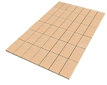 Balsa Wood Sheet - Scored