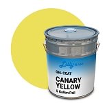 Canary Yellow Gel Coat (5 Gallon Pail)