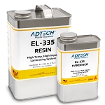 EL-335 High Temp Epoxy Laminating Resin (1 Gallon Kit- Includes Hardener)