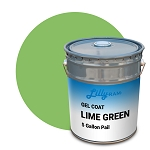 Lime Green Gel Coat (5 Gallon Pail)