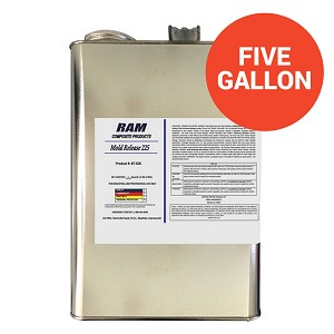 Clear Mold Release 225 (5 Gallon Pail)