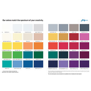 Gel Coat Color Chart