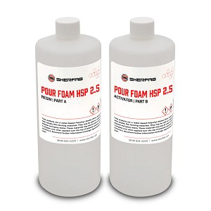 HSP 2.5# Pour Foam - A & B (QUART KIT)