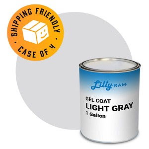 Light Gray Gel Coat (Case of 4, 1 gallon ea.)