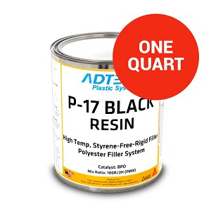 P-17 High Heat Resistant Rigid Filler (1 Quart)