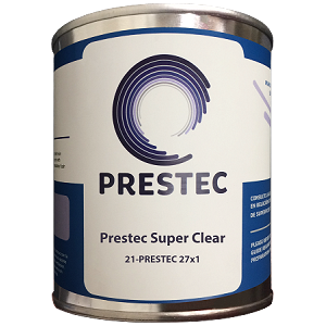27x1 - Hi-Gloss Top Coat/Additive- Clear (Polyester)