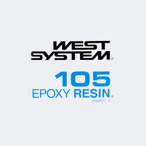 West System Epoxy Resin (5 Gallon Kit - Includes Hardener)
