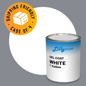 White Gel Coat (Case of 4, 1 Gallon ea.)