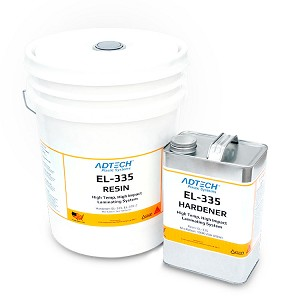 EL-335 High Temp Epoxy Laminating Resin (5 Gallon Pail)