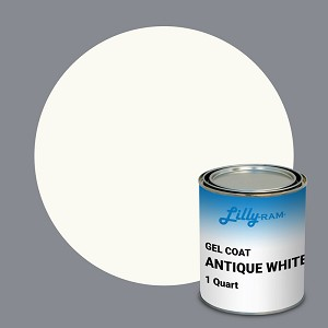 Antique White Gel Coat (1Quart)