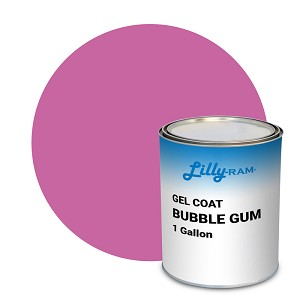 Bubble Gum Gel Coat (1 Gallon)