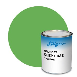 Deep Lime Green Gel Coat (1 Gallon)