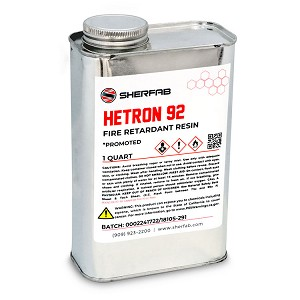 Hetron™ 92 Flame Retardant Polyester Resin (1 Quart)