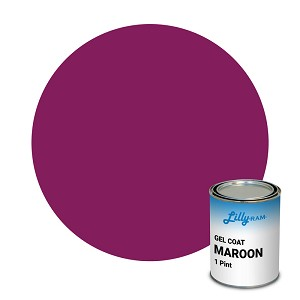 Maroon Gel Coat (1 Pint)