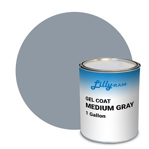 Medium Gray Gel Coat (1 Gallon)