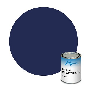 Midwatch Blue Gel Coat (1 Pint)