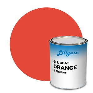 Orange Gel Coat (1 Gallon)