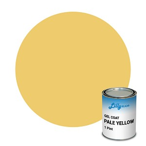 Pale Yellow Gel Coat (1 Pint)
