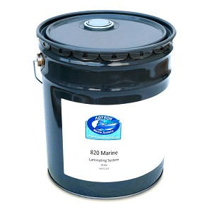 Marine 820 Epoxy Laminating Resin (5 Gallon Pail)
