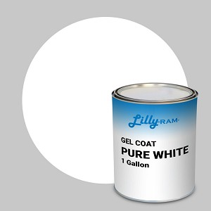 Pure White Gel Coat (1 Gallon)