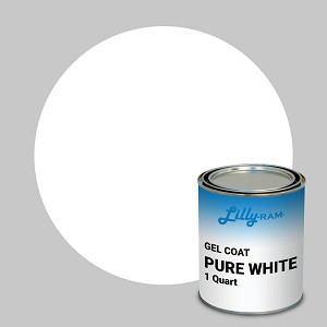 Pure White Gel Coat (1 Quart)