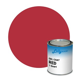 Red Gel Coat (1 Quart)