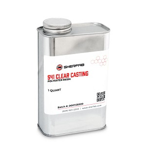 S41 Clear Casting Polyester Resin (Quart)