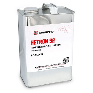 Hetron™ 92 Flame Retardant Polyester Resin (1 Gallon)
