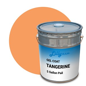Tangerine Gel Coat (5 Gallon Pail)