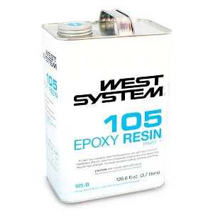 West System Epoxy Resin (1 Gallon Kit, Includes Hardener)